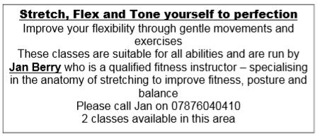 Stretch, Flex and Tone