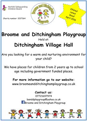 Broome and Ditchingham Playgroup